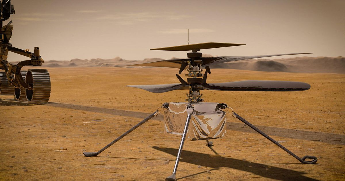 NASA's Mars helicopter nearly crashed on 'stressful' joyride around planet after glitch