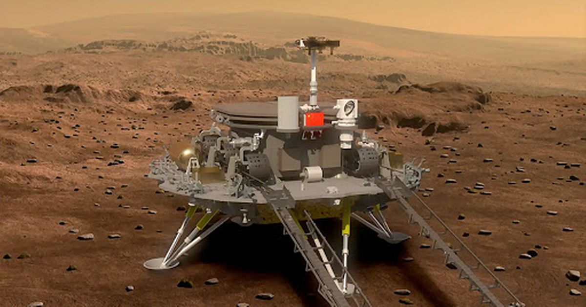 China's Mars mission successfully lands Zhurong rover on Red Planet