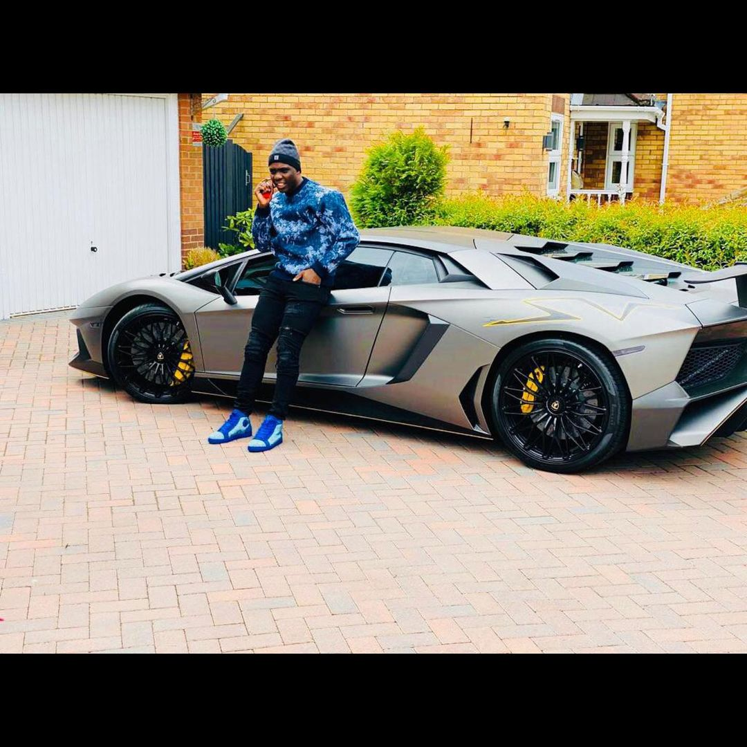 Marvelous Nakamba Flaunts His Lavish US$400 000 Lamborghini Aventador