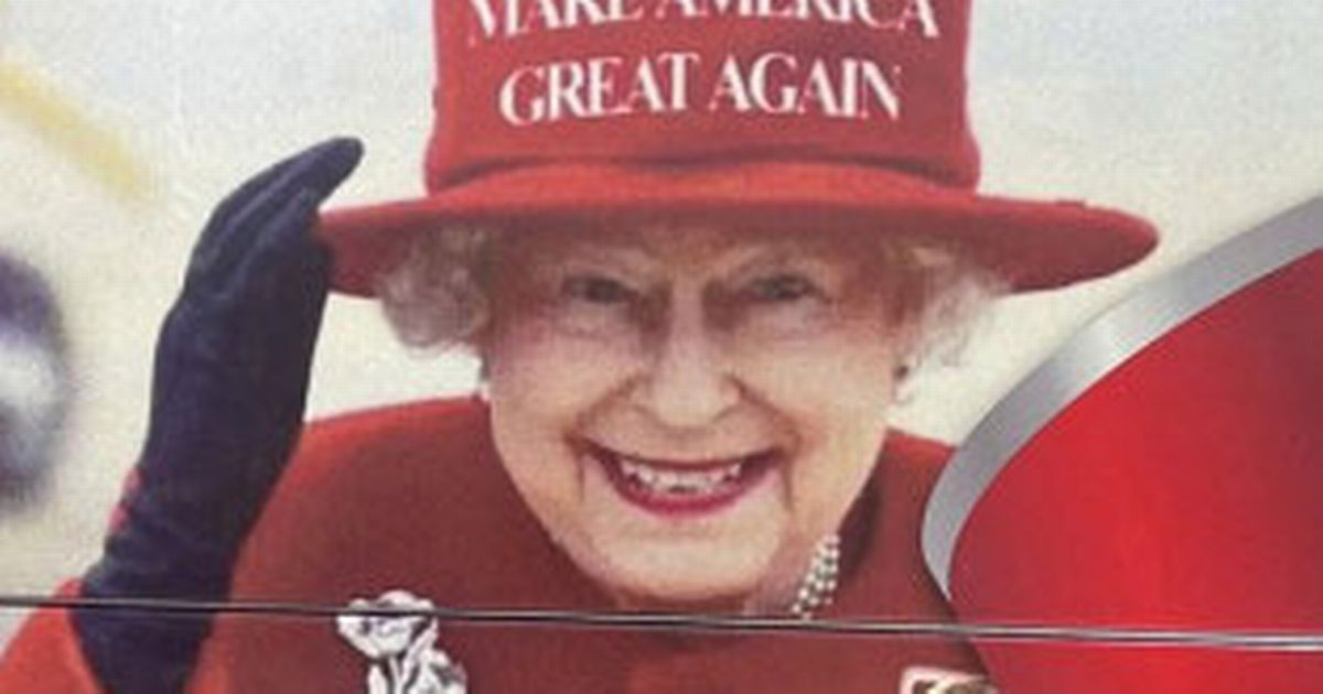 Buckingham Palace asks Donald Trump fan to remove fake Queen pic from election bus