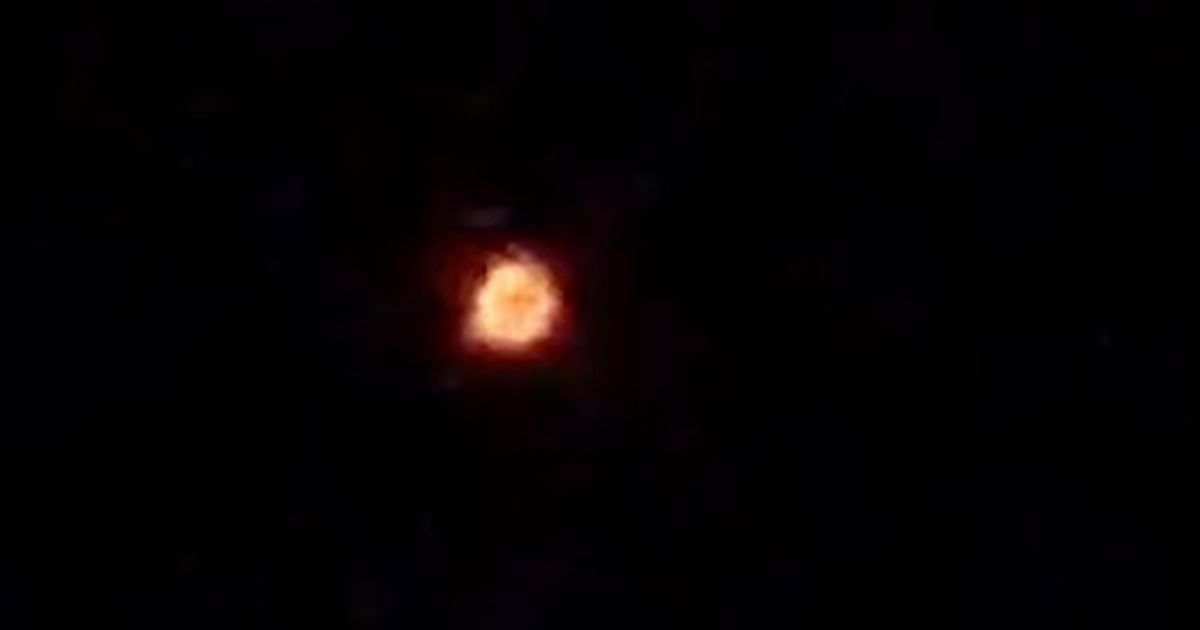 Mystery 'fireball' UFO spotted in India claimed to be hurtling China rocket