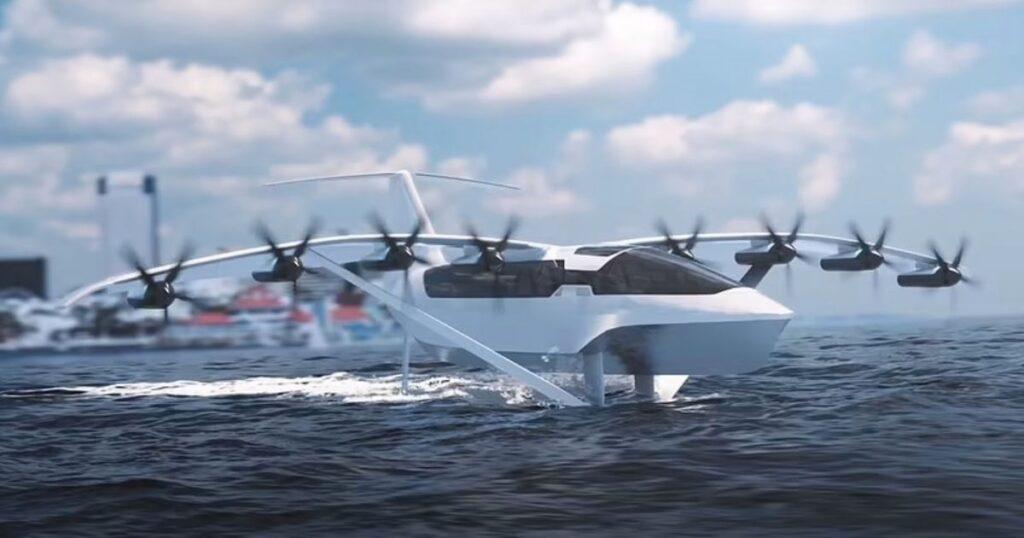 Futuristic half-boat, half-plane that can hit 180mph set to revolutionise travel