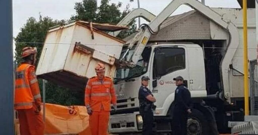 Boy, 13, crushed to death by rubbish truck after he and two pals slept in bin