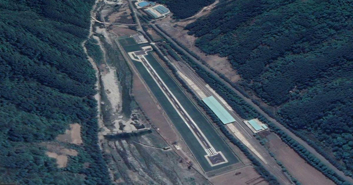 Google Maps user tracks down North Korean 'airfield and train station for Kim Jong-un'