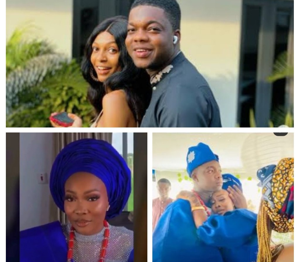 Cute Abiola marries