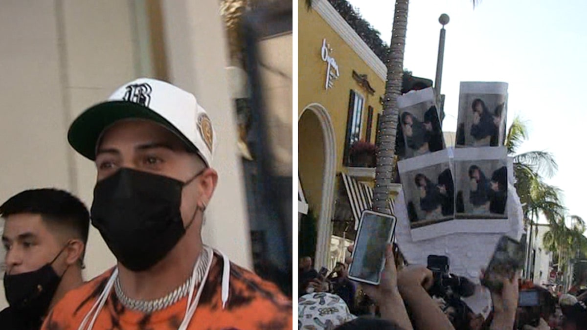 YouTuber Austin McBroom Shuts Down Rodeo Dr. with Bryce Hall Pinata