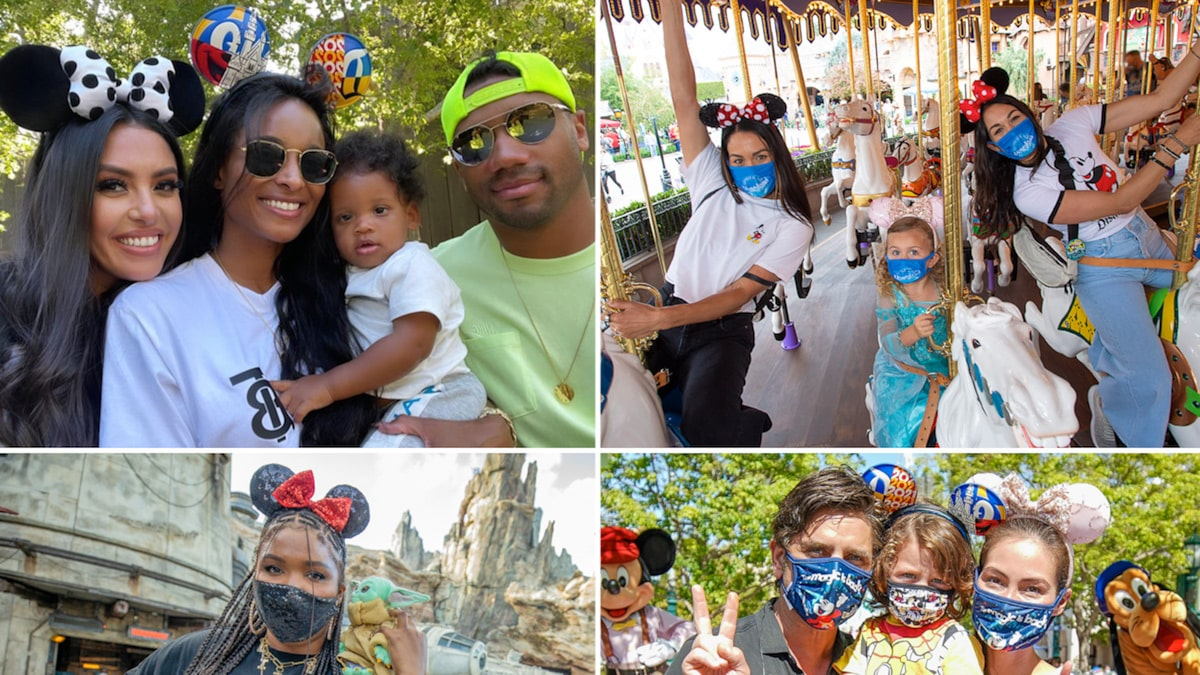 Stars Back At Disneyland -- Masked & Magical!