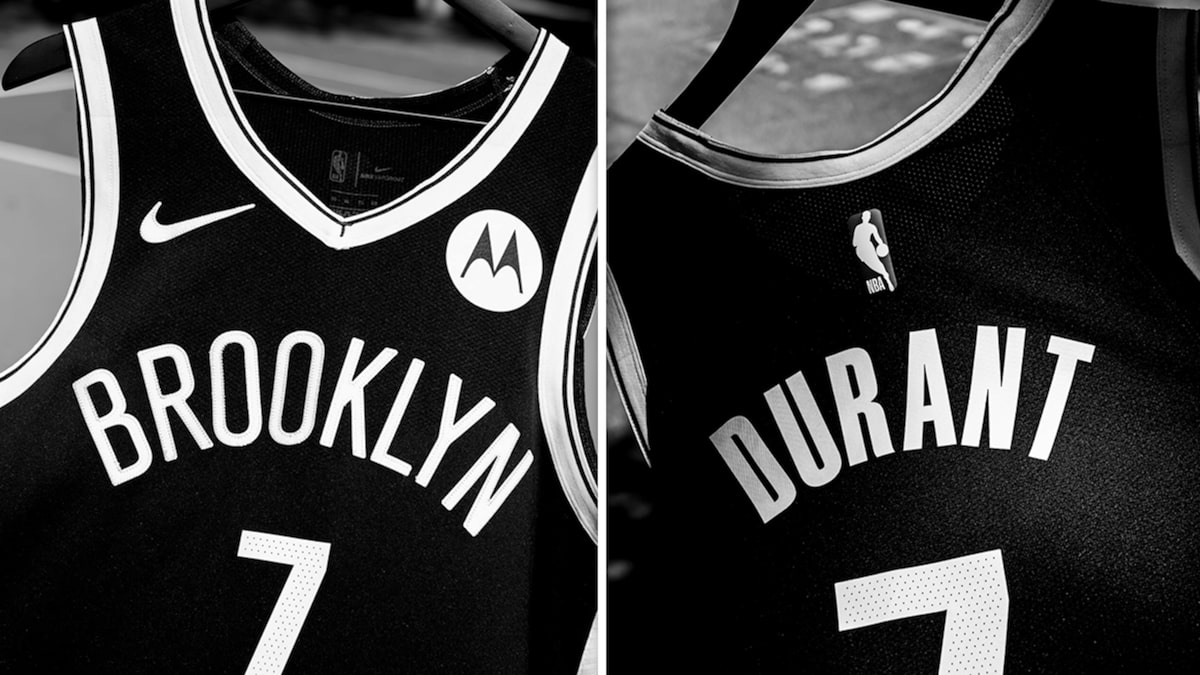 Kevin Durant's Nets Debut Jersey For Sale, Hits Memorabilia Stock Market