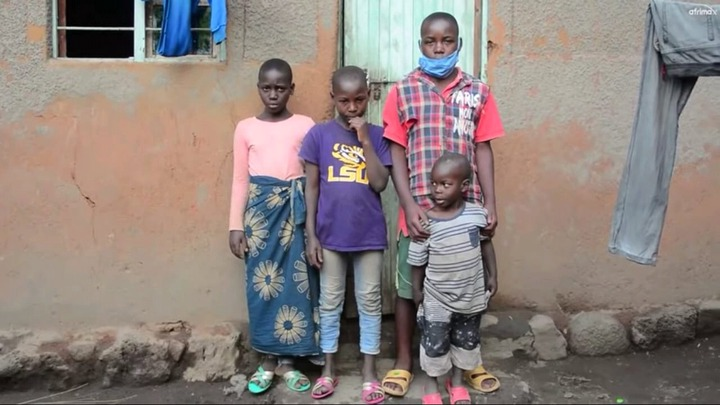 Tears Of Joy As Well Wishers Visited The 4 Children Living Alone After Mom Died And Dad Imprisoned