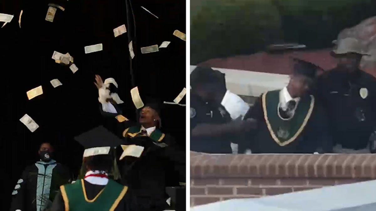 Migos Labelmate Metro Marrs Busted for Making It Rain at HS Graduation