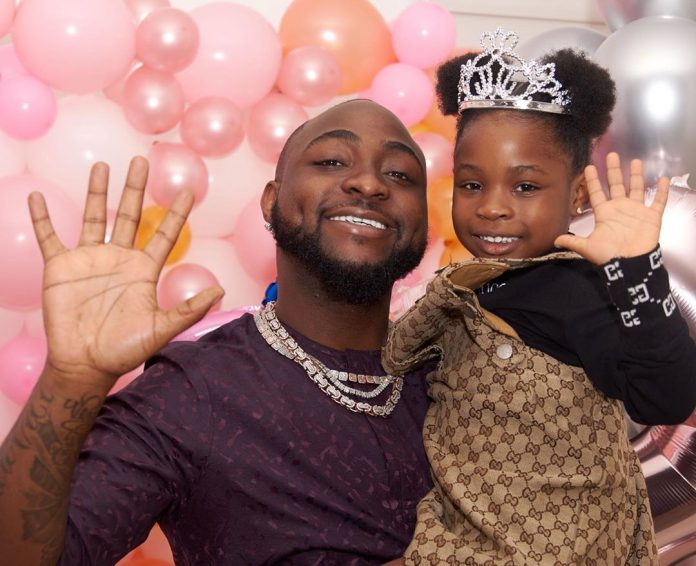 Davido Buys 6-Year-Old Daughter A Brand New Range Rover SUV As A Birthday Present