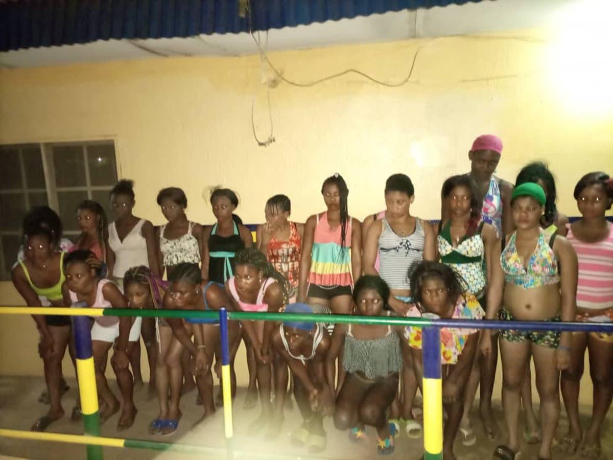 Teenage Prostitutes: Police rescue underage girls lured into prostitution in Ogun