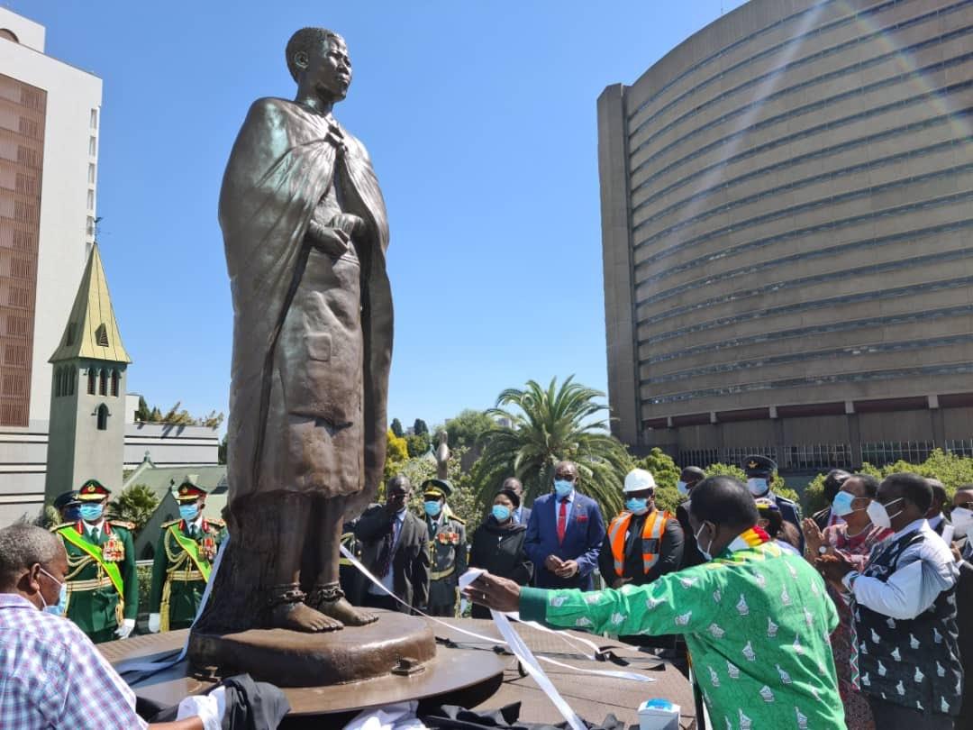 Mbuya Nehanda's Statue Causes Mixed Reactions On Social Media