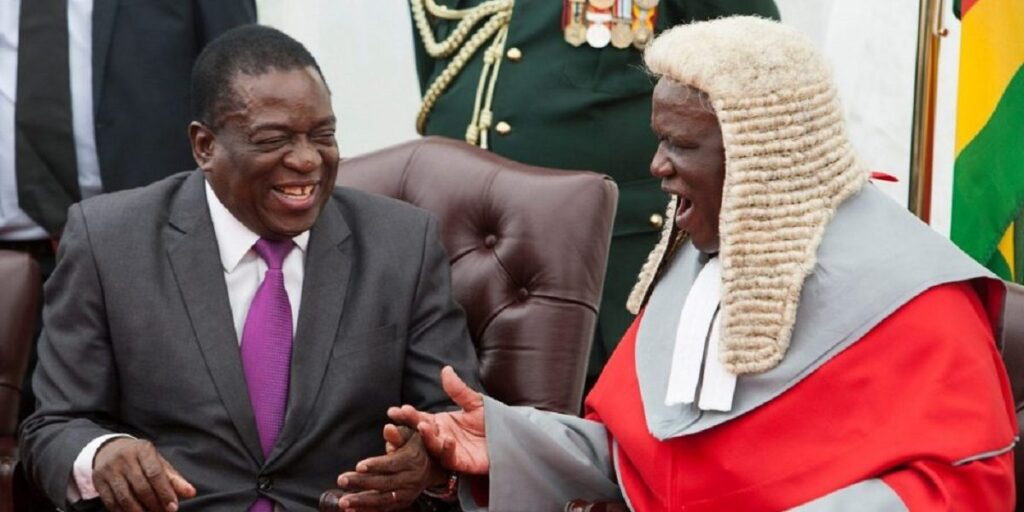 President Mnangagwa Extends Chief Justice Malaba's Tenure By 5 Years