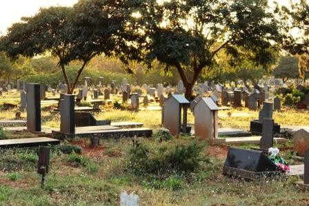 Shocker As Daring Thieves Steal A Tombstone From A Grave