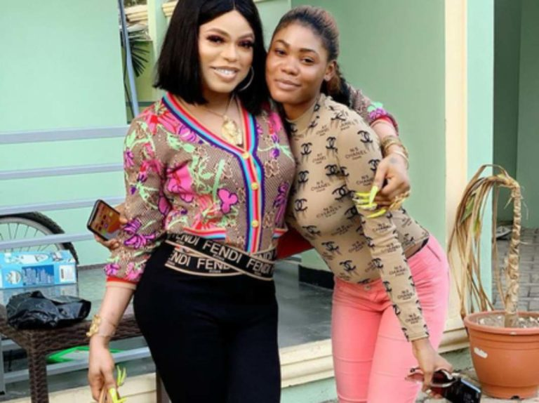 Bobrisky Reacts After Being Accused of Beating Ivorian Lady That Tattooed His Name