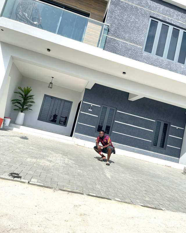 Wow! Comedian, Sir Balo Becomes A House Owner, Shows Off New Home (Photos)