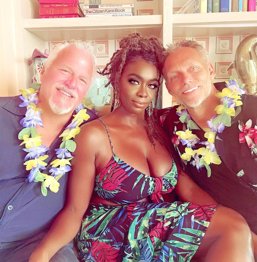 Married Woman Poses With Both Her Husband And Lover (Photos)