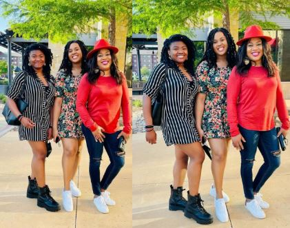 Actress Stella Damasus Shares Gorgeous Photos With Her Grown-up Daughters