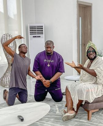 """""""In My 10years Of Content Creating, I've Never Come Across Such Humility"""" – Craze Clown Hails Don Jazzy"""