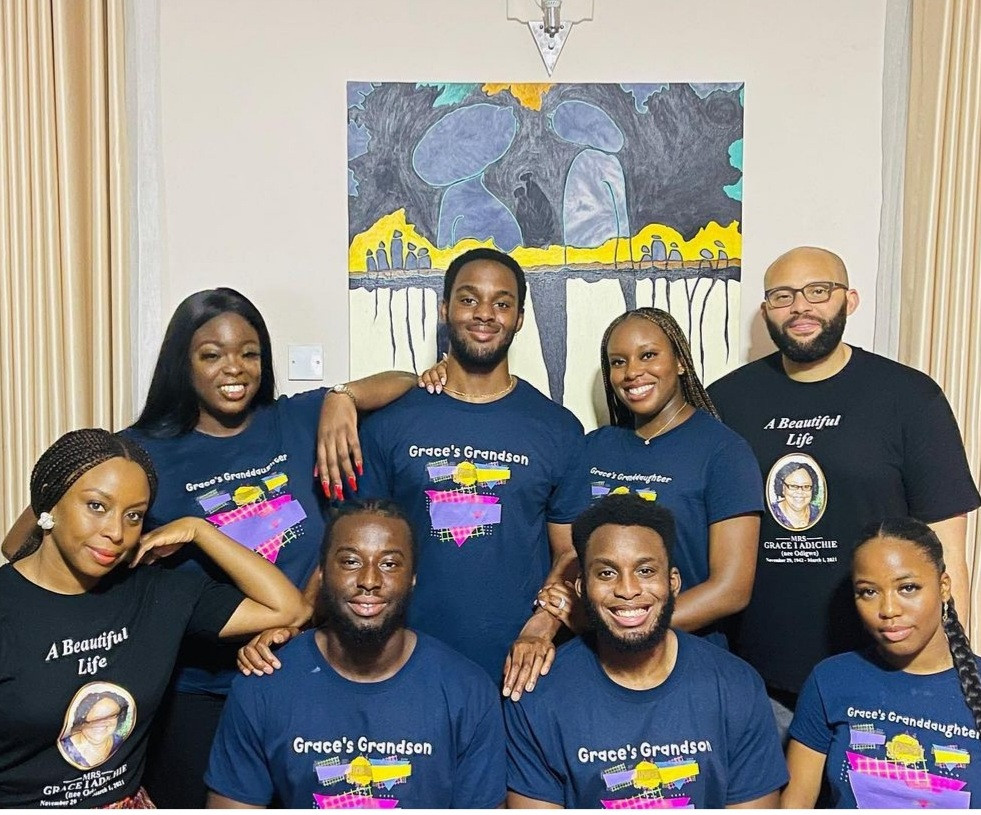 Chimamanda Adichie Shows Off Her Cute Nieces and Nephews