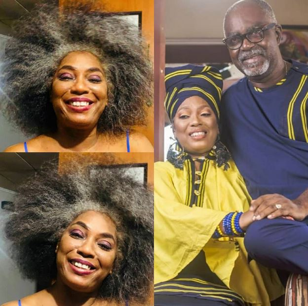 Yeni Kuti's Partner Professes His Undying Love For Her As She Turns 60