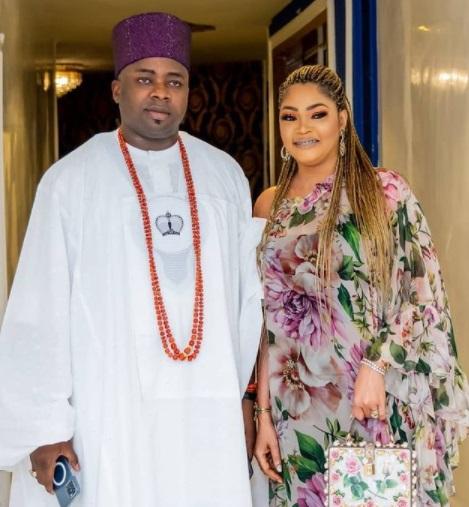 Oba Elegushi, And First Wife Celebrate 18th Wedding Anniversary