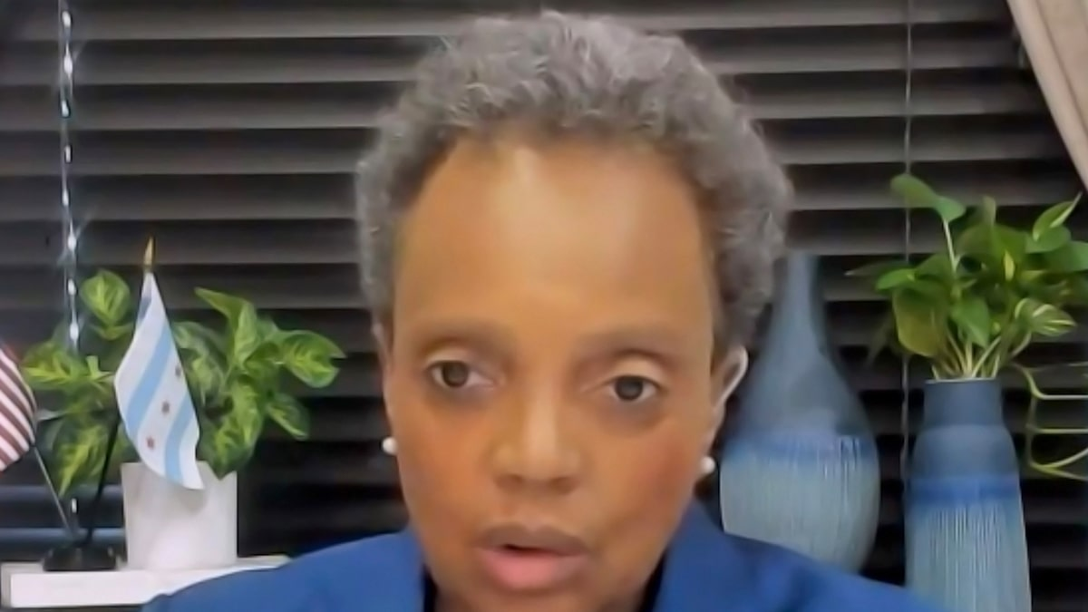 Chicago Mayor Lori Lightfoot Sued For Only Doing Interviews with People of Color