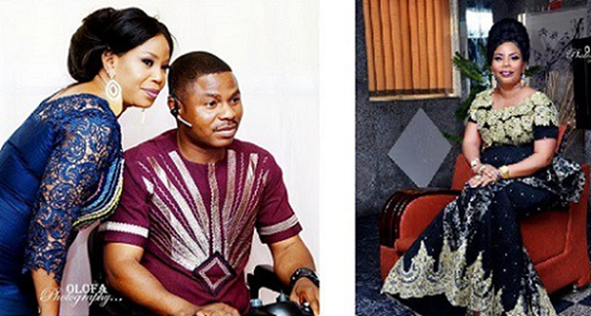 Any Woman that gets close to Yinka Ayefele will be burnt by Holyghost fire – Wife, Temitope Ayefele