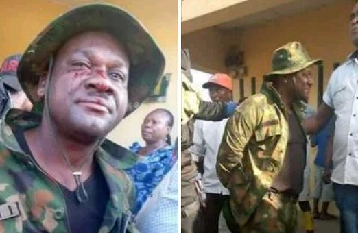 Police, arrest, soldier ,,murder ,businessman, lift ,Akwa Ibom