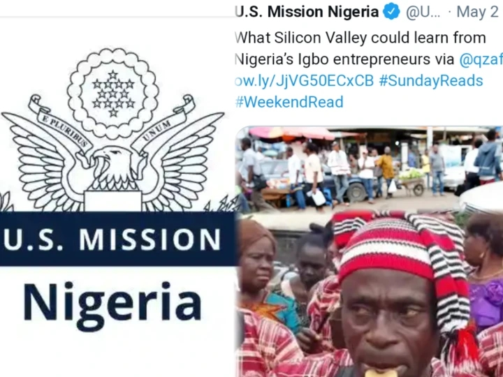 Here's What The US Mission In Nigeria Shared On Twitter About Igbos That Caused Reactions