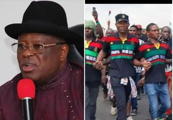 """""""Our People Are Burning Police Stations & Killing Policemen Who Are Also Igbos"""" - David Umahi"""