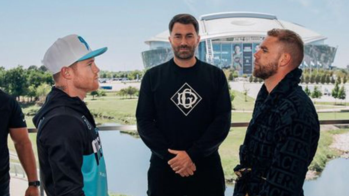 Eddie Hearn Expecting 70k Fans For Canelo Fight, COVID-19 Precautions In Place
