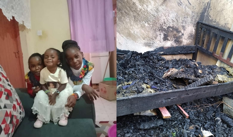 Kenyan woman loses her three children, nanny in house fire