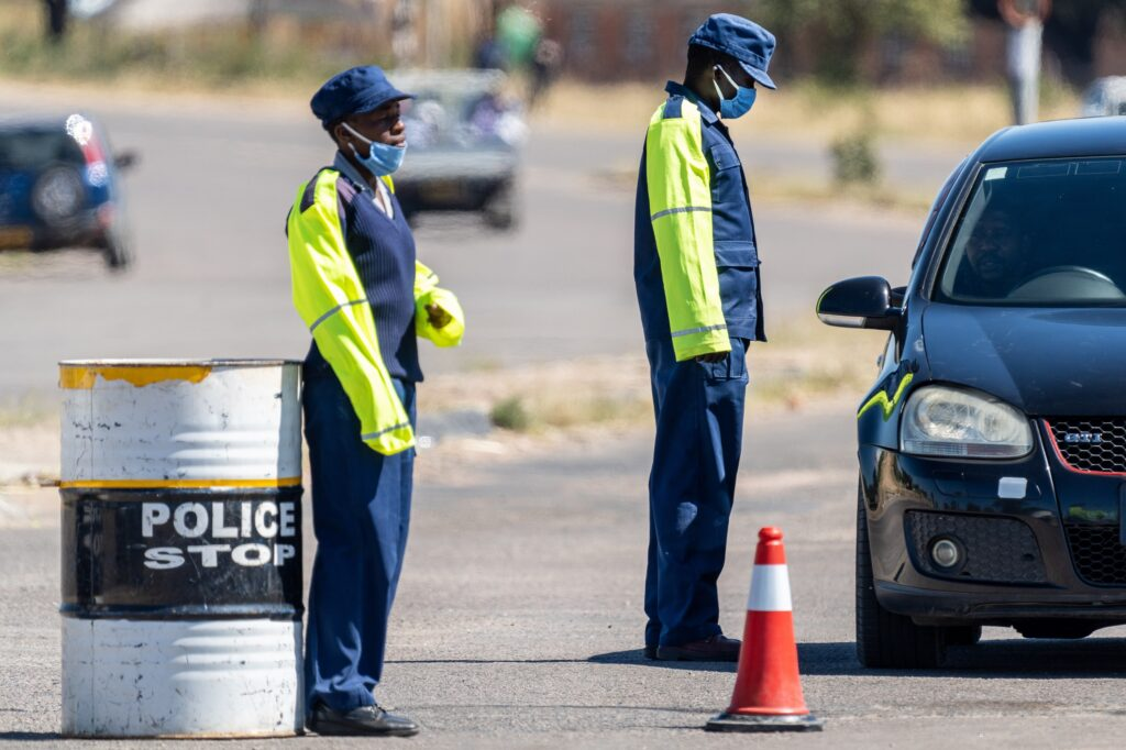 ZRP Traffic Cop Battling For Life After Being Run Over By Kombi Driver