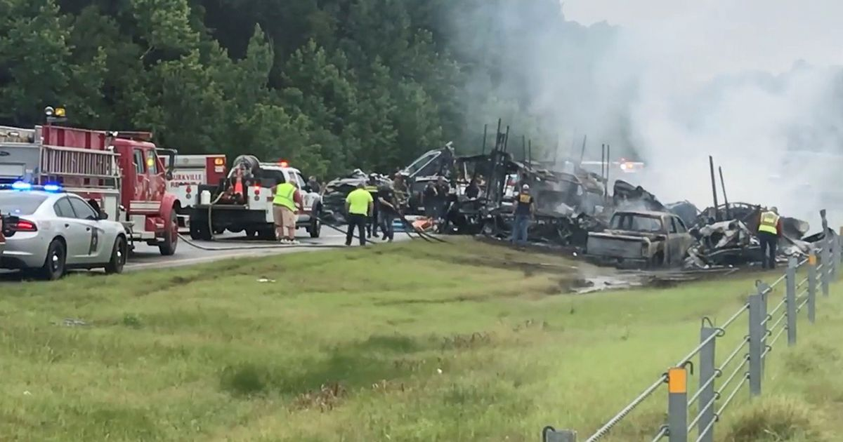 Alabama storm: Tragedy as tropical storm pile-up kills 10, including dad and baby