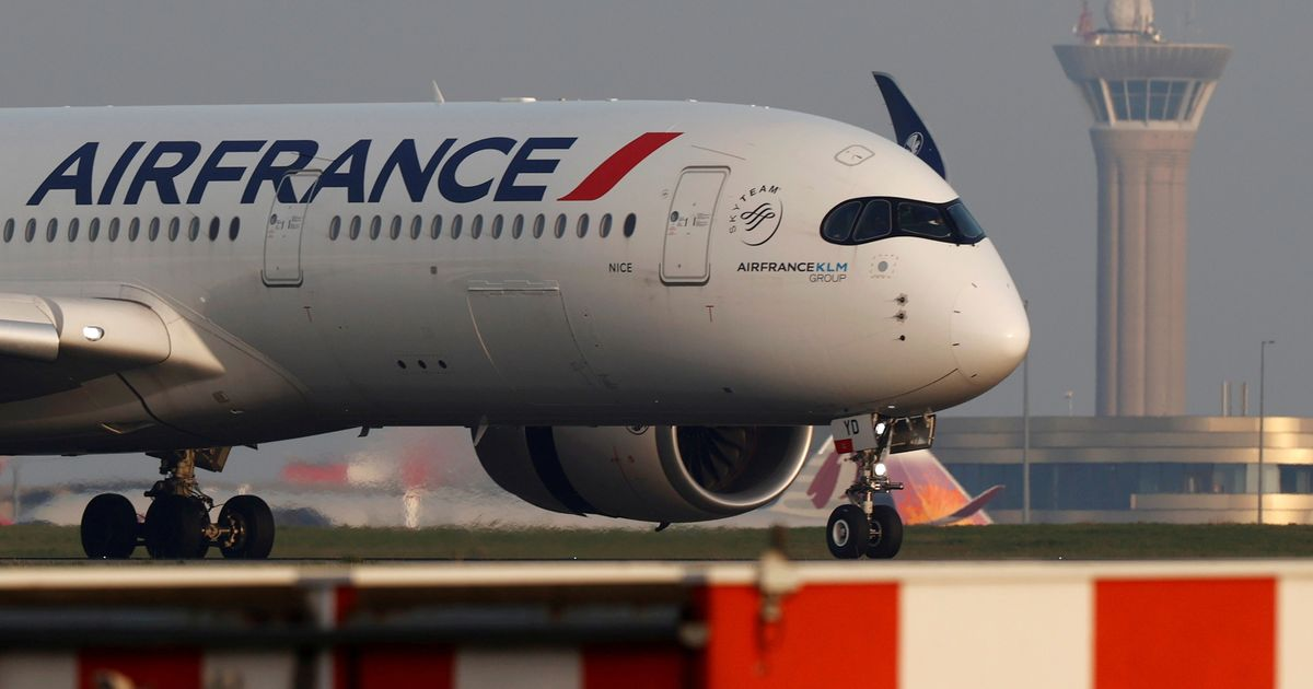 Air France flight evacuated after 'explosive device' found onboard
