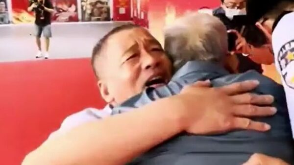 Dad, 90, reunites with son kidnapped 58 years ago after he lost sight of him at station