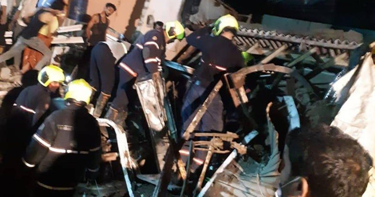 Eight children and three adults 'crushed to death' after building collapses in Mumbai