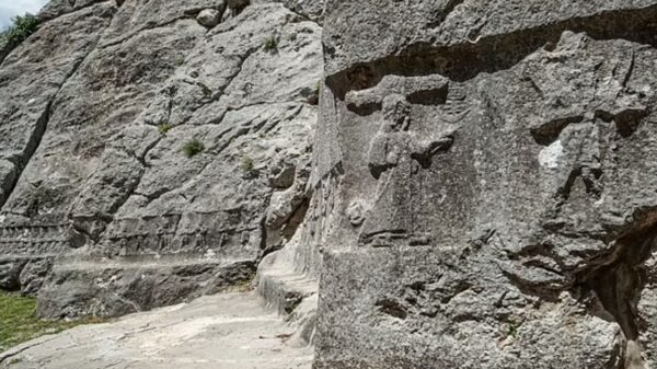 3,000-year-old carvings from ancient calendar include an 'underworld' beneath Earth