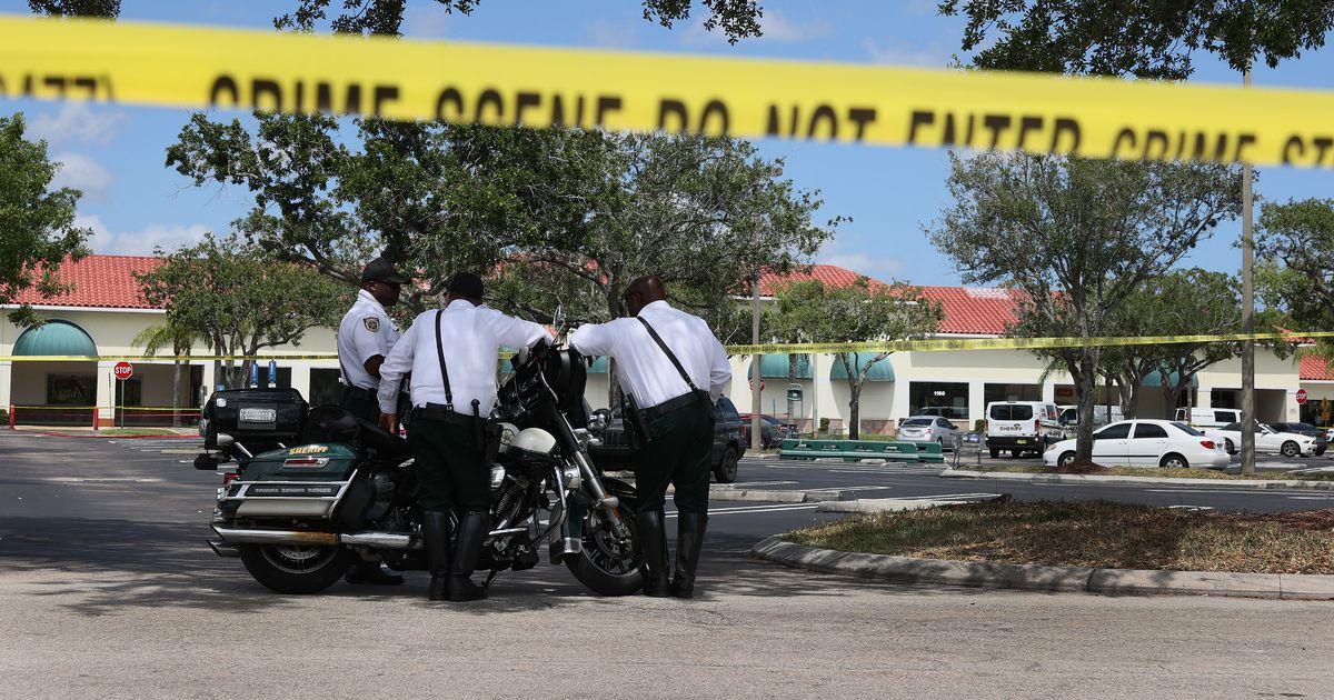 Tragedy after 'murder-suicide' shooting inside Florida supermarket leaves toddler dead
