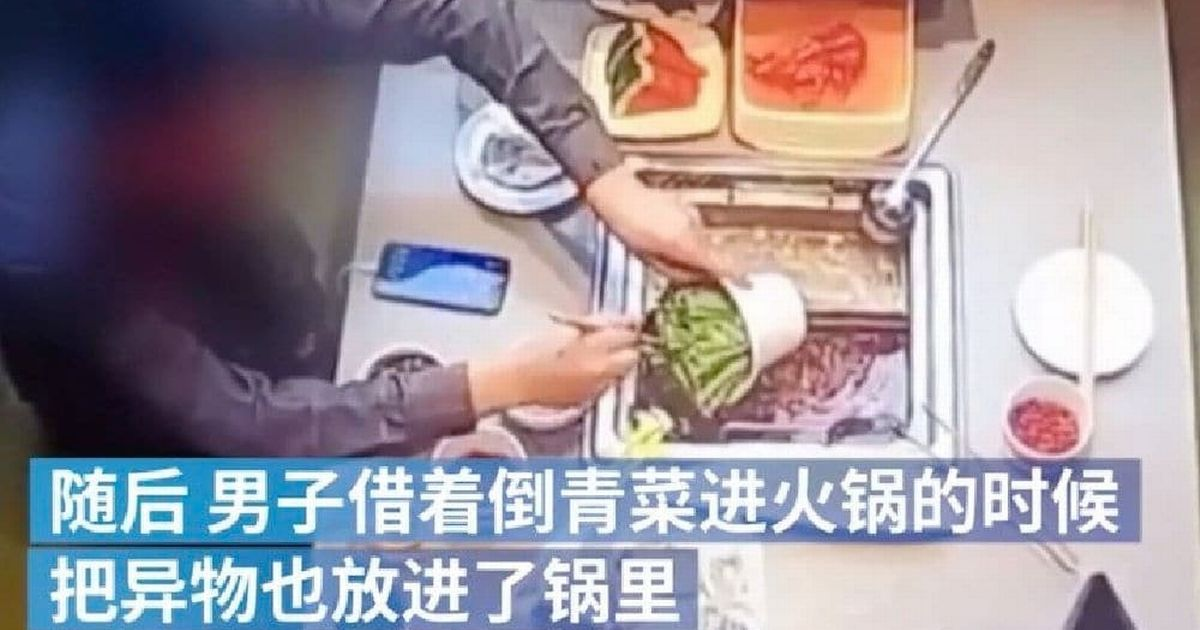 Shameless scammer arrested after pretending to find cockroach in food at two restaurants