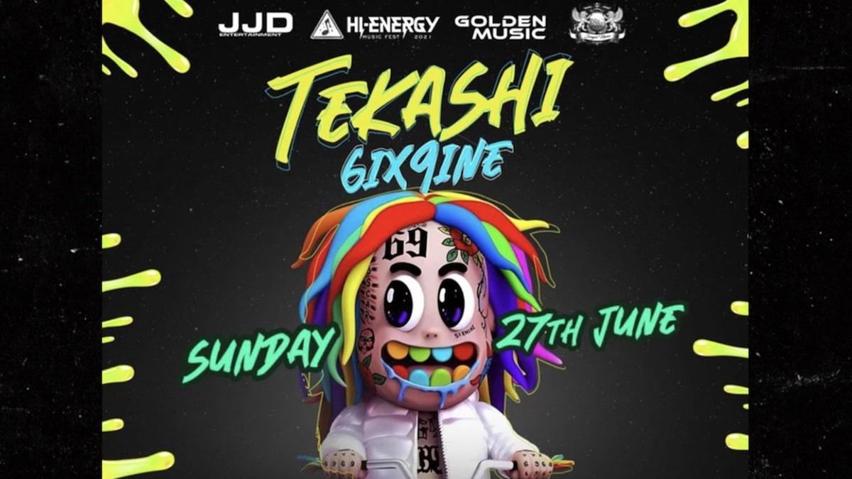 Tekashi 6ix9ine Says He Bailed on Texas Concert Because He Wasn't Paid