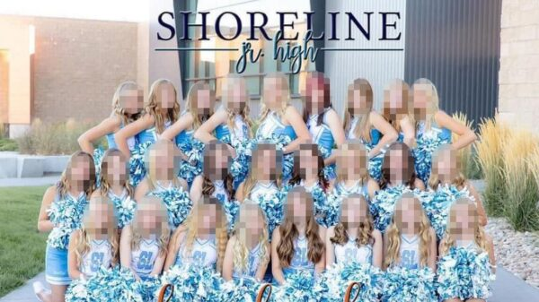 Cheerleader with Down's syndrome devastated at being edited out of yearbook photo