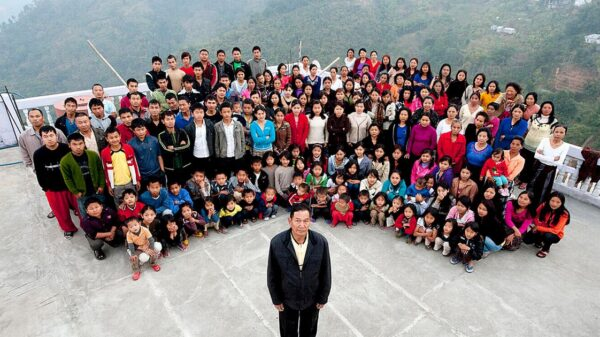 'God-like' Christian sect leader's 39 wives won't bury him in case he's 'resurrected'