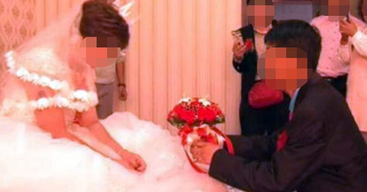 Horrified husband watches wife marry another man on social media after wedding gift con