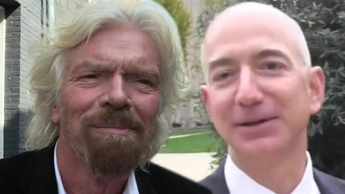 Richard Branson Planning to Beat Jeff Bezos to Space