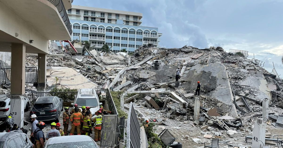 Miami building collapse: Survivor describes hearing pained cries of trapped neighbours