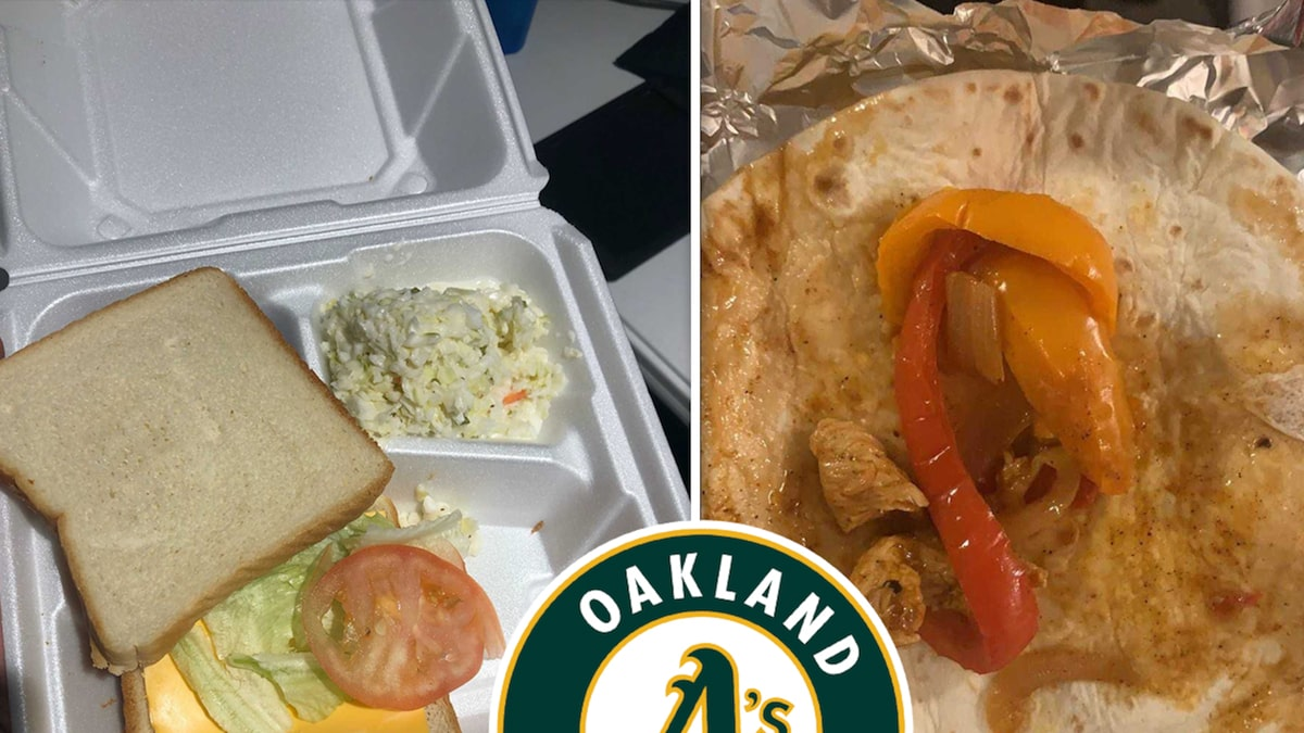 Oakland A's Minor Leaguers Expose 'Fyre Festival' Style Meals, Food Vendor Fired