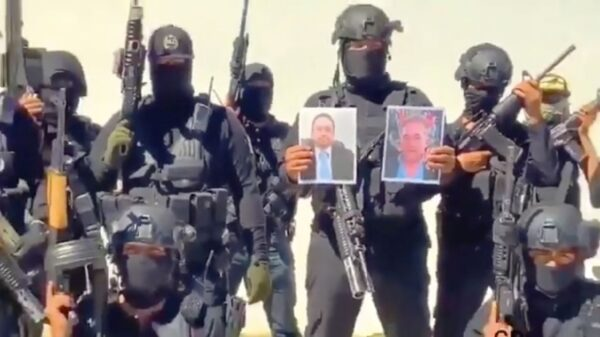 El Chapo's cartel tortures and kills rivals before hanging half-naked bodies from bridge
